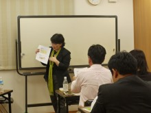 2011年5月26日集客・営業のための「ウェブサイト」活用講座の様子3