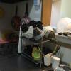 充実したキッチン、その名も「あやとり食堂」。昼食は自分たちで栄養バランスを考えて作ることが多いです。